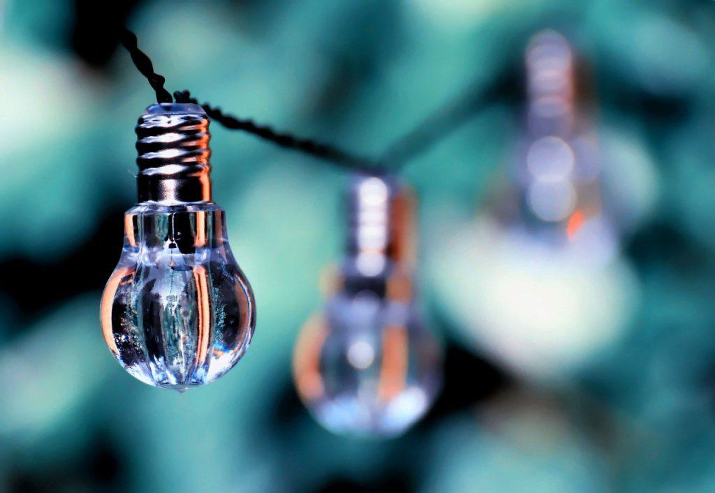 light bulb, colorful, lamps