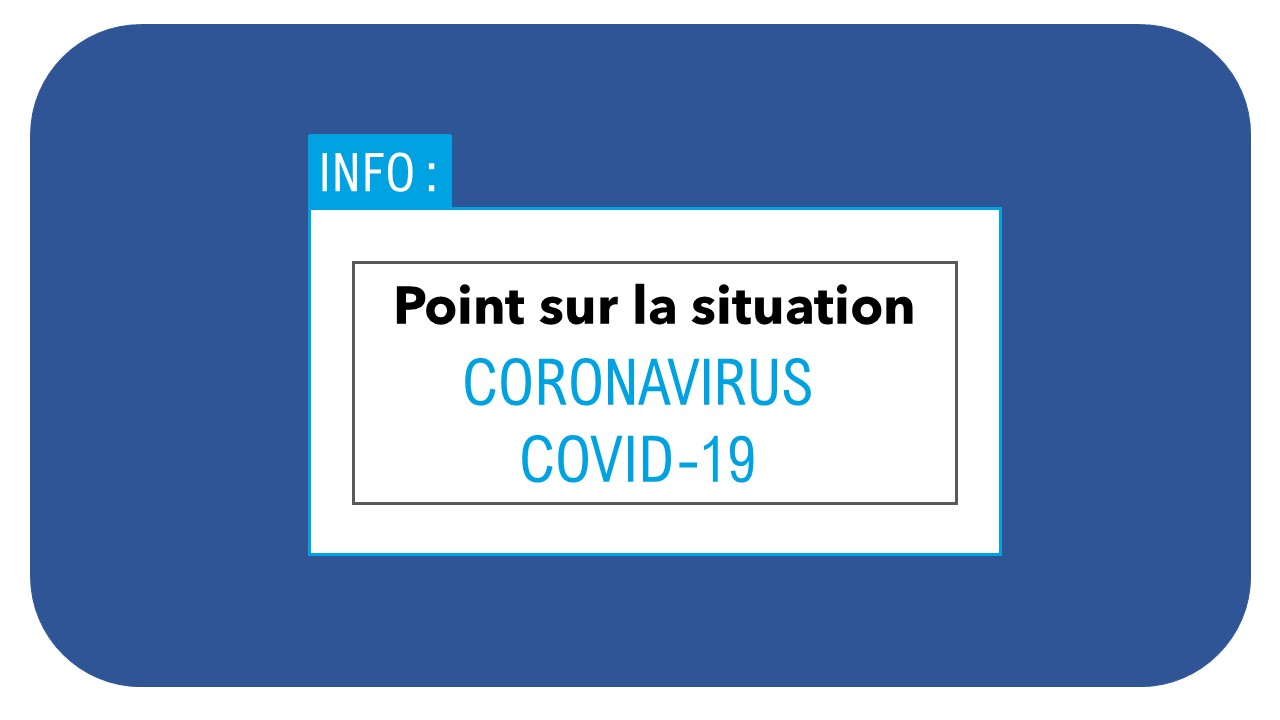 point sur la situation coronavirus